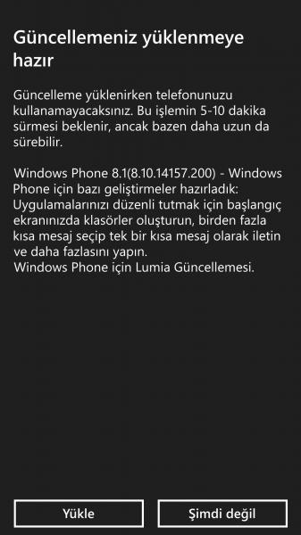 Lumia 930 Ekran