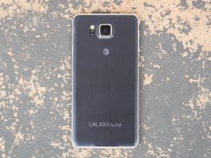 Samsung Galaxy Alpha Arka