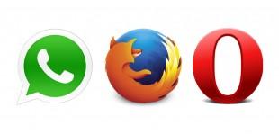 WhatsApp Web, Opera ve Firefox'a Geldi!