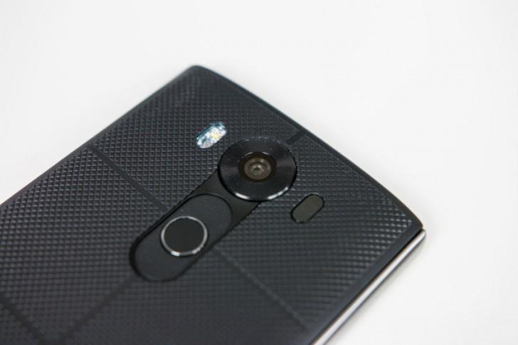 LG V10 Kamera