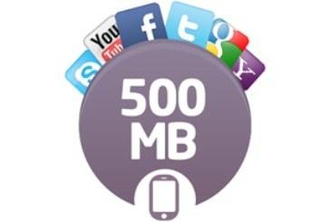 Avea 500 MB İnternet Paketi – 15 TL