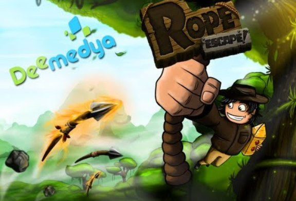 Rope Escape – Android Aksiyon Oyunu