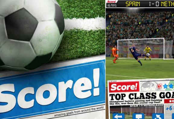 Score! World Goals Android İçin Yayınlandı!