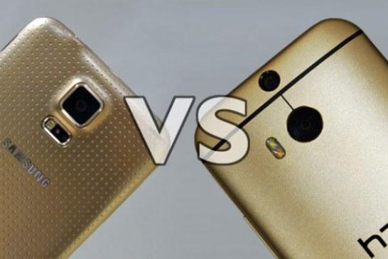 HTC One M8 – Samsung Galaxy S5 Karşılaştırma