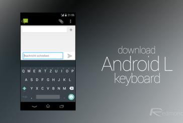 Android L Klavyesini Denemeye Başlayın!
