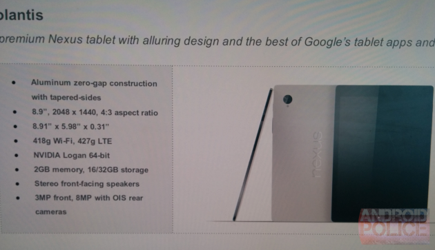 HTC Nexus 8