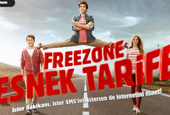 FreeZone'dan Esnek Tarife!