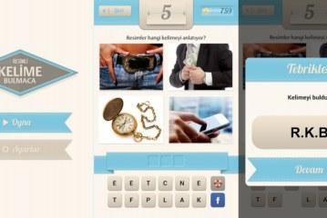 Resimli Kelime Bulmaca Oyunu – Cevapları