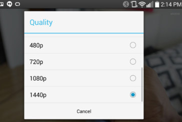 Artık Youtube Videoları LG G3'te 1440p Oynatılabiliyor!