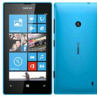 Lumia 520 cyan