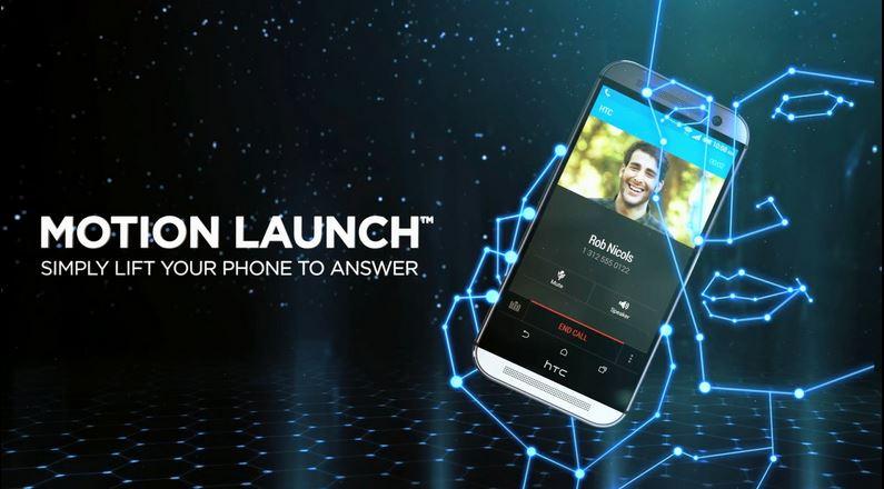 HTC Motion Launch Gestures