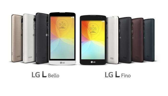LG L Fino ve LG L Bello