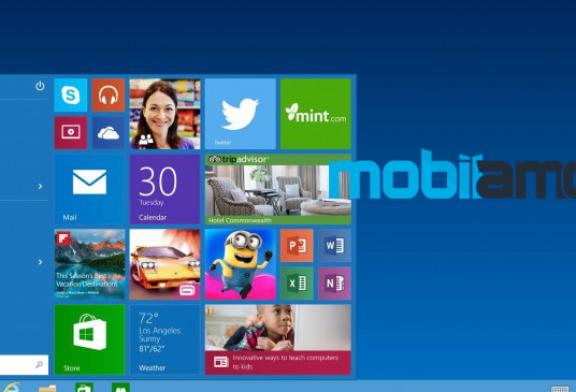 Windows 10 Başlat Menüsü ile Geliyor