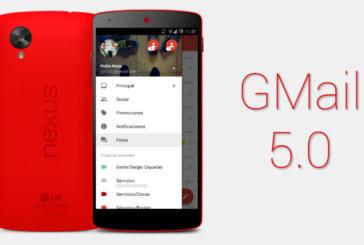 Yeni Gmail 5.0 Görüntülendi!
