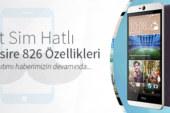 Çift Sim Hatlı HTC Desire 826 Özellikleri