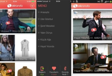 Dizilerdeki Ürünler Ekranda Uygulamasında!