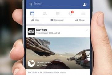 Facebook Video'ya 360 Derece Desteği Geldi