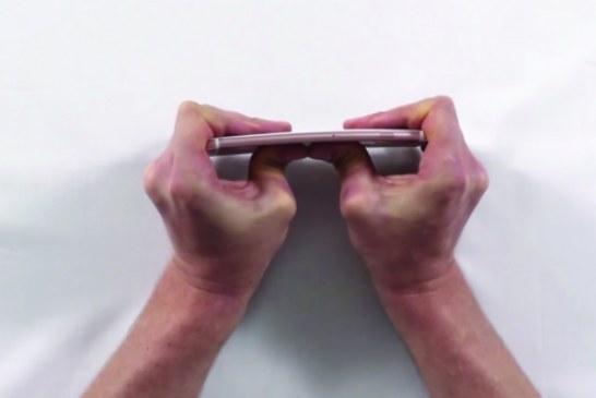 iPhone 6S Bükülme Testi