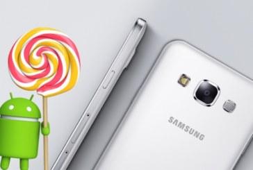 Galaxy E5 için Android 5.1.1 Güncellemesi Geldi!