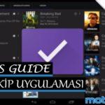 SeriesGuide Uygulama Tanıtımı - Yabancı Dizi Takip Uygulaması