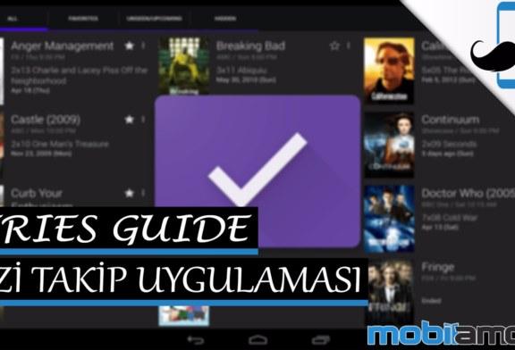 SeriesGuide Uygulama Tanıtımı – Yabancı Dizi Takip Uygulaması