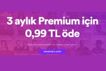 Spotify Premium Paketi, Yeni Yıla Özel 0,99 TL!