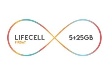 Lifecell Fırsat 5GB Paketi – 44 TL