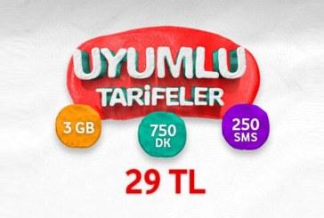 Vodafone Uyumlu Tarifeler