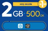 Turkcell Hoş Geldin 2GB Paketi – 27 TL