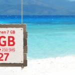 Vodafone Yenilenen 7GB Tarifesi - 27 TL