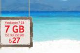 Vodafone Yenilenen 7GB Tarifesi – 27 TL