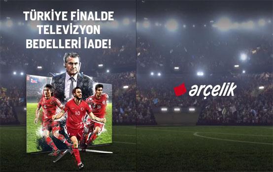 Arçelik'ten Milli Takım TV Ücret İadesi Kampanyası!