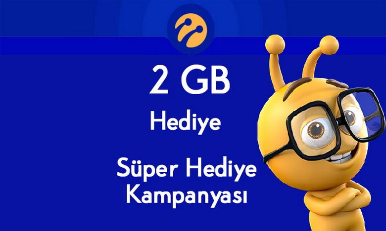 Turkcell Mobil Ödeme 2 GB Hediye İnternet Kampanyası