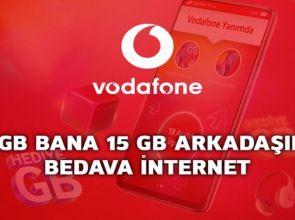 Vodafone Red'e Arkadaşını Davet Et 15 GB Bedava İnternet Kazan