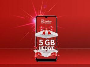 Vodafone Toplan Gel 5 GB Bedava İnternet Kampanyası